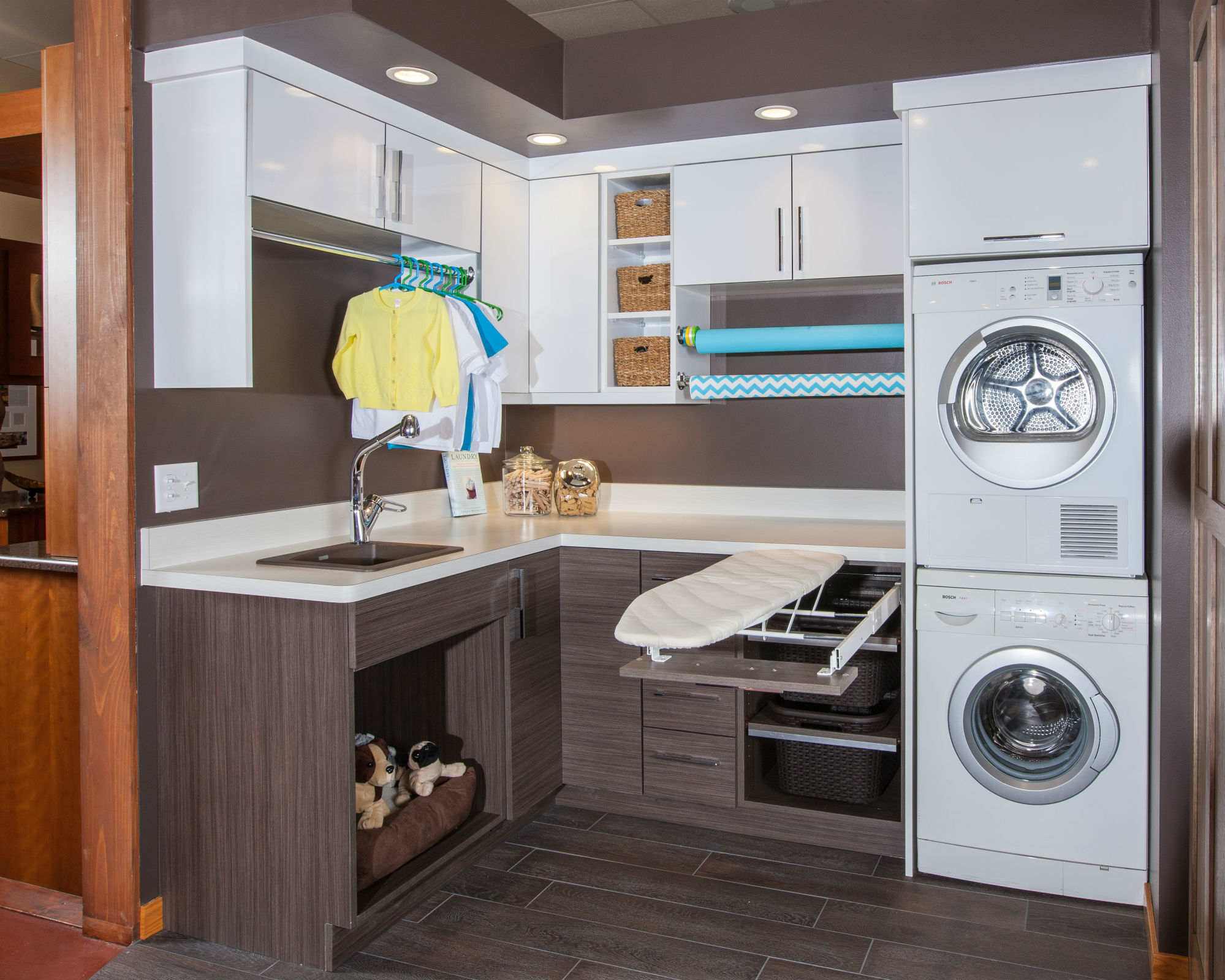Crystal Kitchen And Bath Laundry Room Display